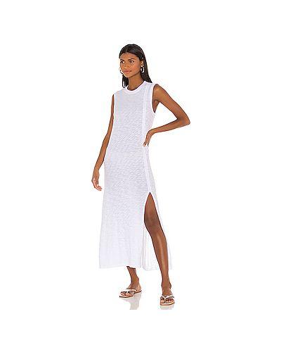 Текстильное белое платье Atm Anthony Thomas Melillo