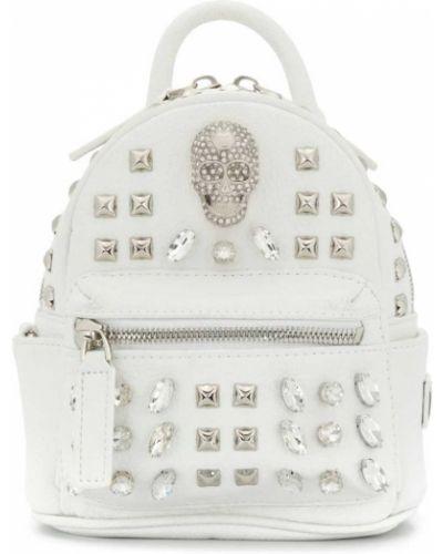Белая сумка Philipp Plein