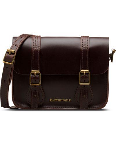 Коричневая кожаная сумка Dr Martens