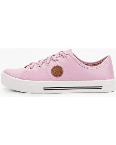 Розовые низкие кеды Moleca
