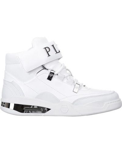 Белые кроссовки Philipp Plein