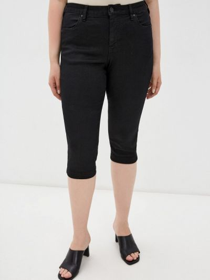 Джинсовые шорты - черные Zizzi