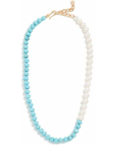 Naszyjnik perły turkusowy Chan Luu