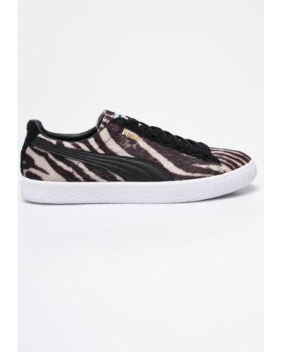 Черные кроссовки текстильные Puma
