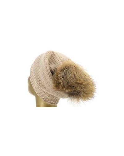 Коричневая шапка William Sharp