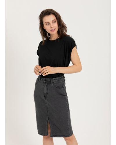 Юбка карандаш джинсовая с карманами Sela