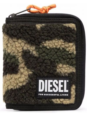 Portfel - zielony Diesel