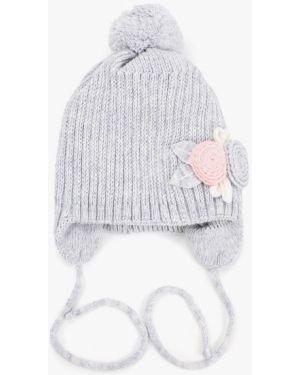 Серая шапка чудо-кроха