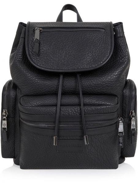 Czarny plecak z nylonu Tiba + Marl
