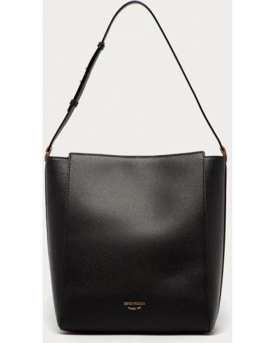 Czarna torebka duża Emporio Armani