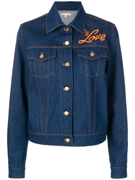 Хлопковая синяя куртка Olympia Le-tan