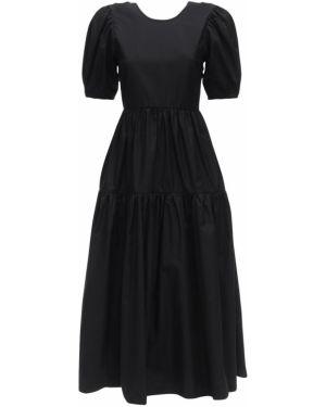 Платье с декольте из поплина Cecilie Bahnsen