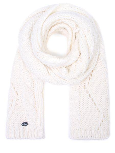 Бежевый классический шарф из альпаки прямоугольный Canadiens