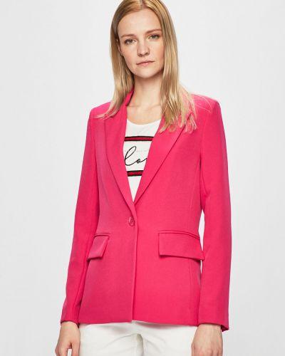 Классический пиджак прямой розовый Silvian Heach