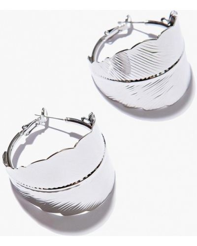 Серьги-кольца Exclaim