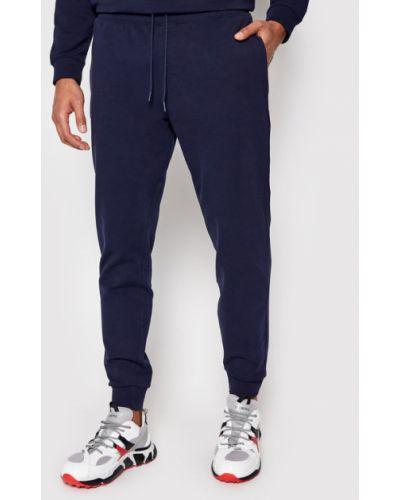 Spodnie dresowe granatowe Guess