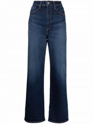 Джинсовые широкие джинсы - синие Levi's®  Made & Crafted™