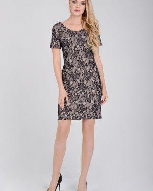 Платье с V-образным вырезом на молнии Zip-art