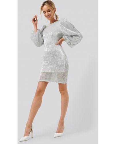 Платье с пайетками Na-kd