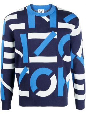 Bawełna bawełna bluza z długimi rękawami okrągły dekolt Kenzo