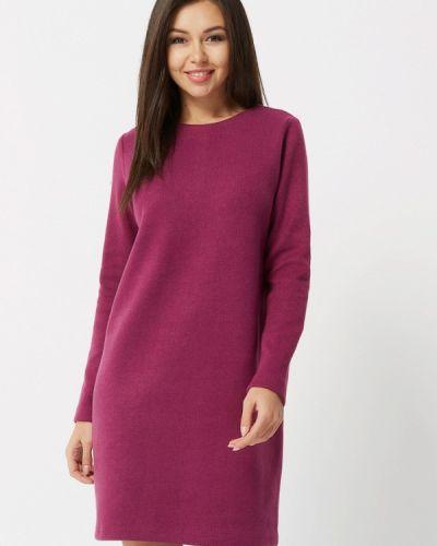 Платье бордовый вязаное Verna Sebe