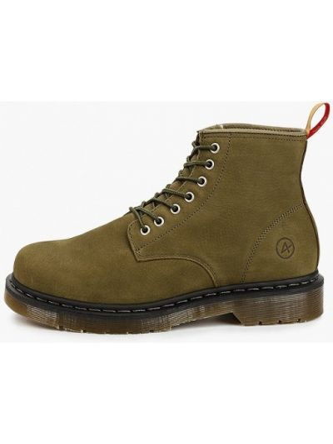 Кожаные ботинки - хаки Affex