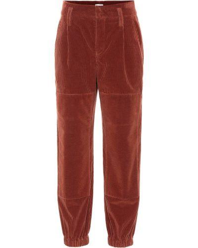 Спортивные брюки вельветовые Brunello Cucinelli
