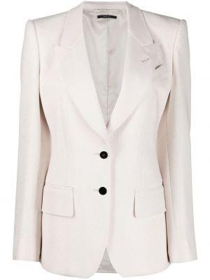 Шерстяной однобортный пиджак с карманами Tom Ford