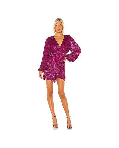 Платье розовое винтажная Retrofete
