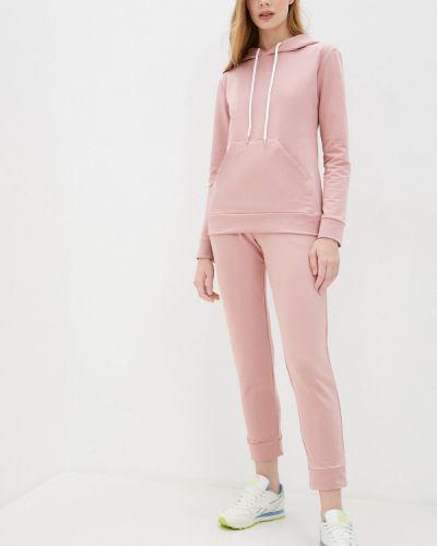 Костюмный розовый спортивный костюм Krismarin