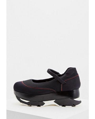 Туфли с застежкой на лодыжке осенние Marni