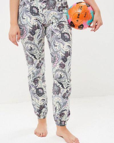 Бирюзовые брюки домашние Лори