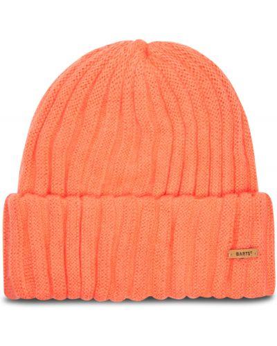 Pomarańczowa czapka beanie z akrylu Barts