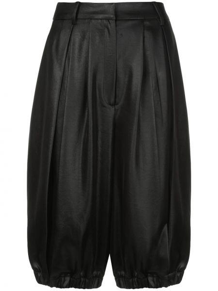 Черные шорты с карманами Tibi