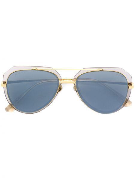 Прямые желтые солнцезащитные очки металлические Bolon