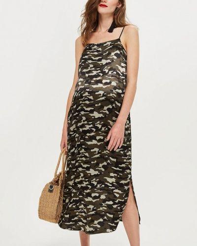 Платье хаки Topshop Maternity