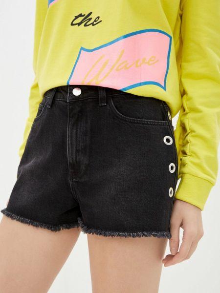 Джинсовые шорты черные Sh
