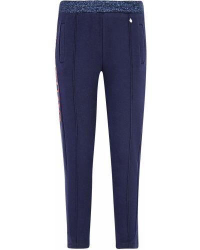 Хлопковые синие спортивные брюки Relish