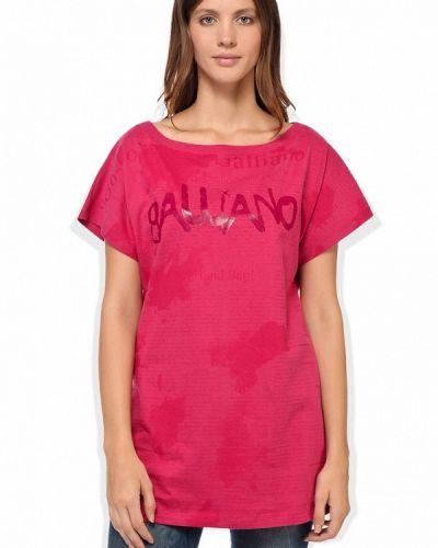 Футболка - розовая Galliano