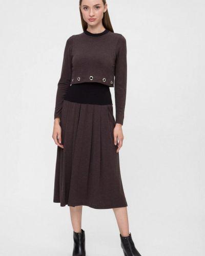 Платье - коричневое Vergans
