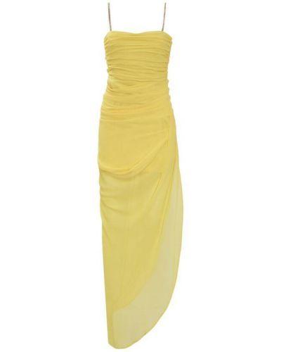 Żółta sukienka Anna Molinari