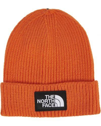 Czapka - pomarańczowa The North Face