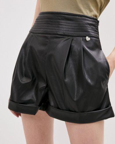 Повседневные черные шорты Twinset Milano
