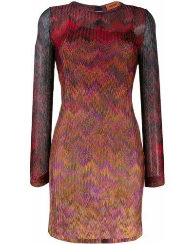 Платье макси шелковое для невысоких Missoni