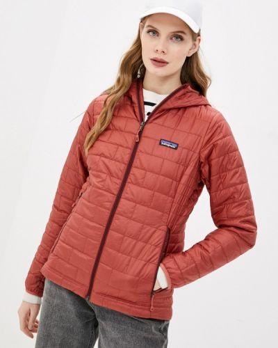 Коричневая утепленная куртка Patagonia