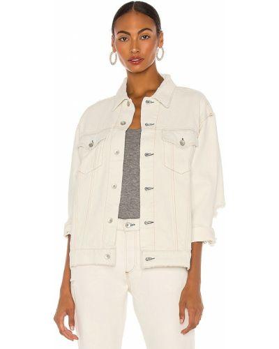 Хлопковая ватная белая куртка Rag & Bone