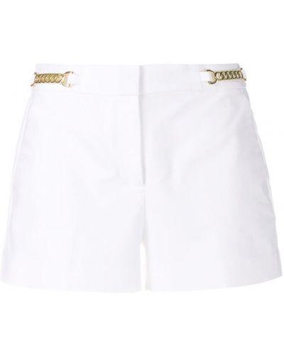 Шорты с поясом с карманами хлопковые Michael Michael Kors