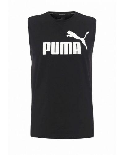 Черная спортивная майка Puma