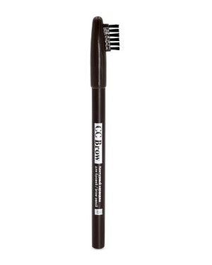 Карандаш для бровей коричневый Lucas` Cosmetics