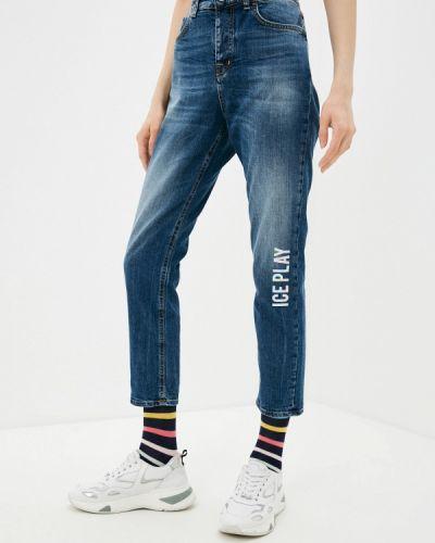 Синие широкие джинсы свободного кроя Ice Play